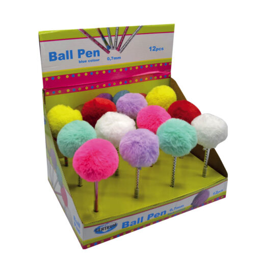Bolígrafos Pompom BO86923