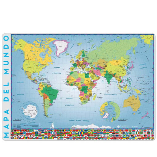 Vade Sobremesa Mapa Mundo VA501