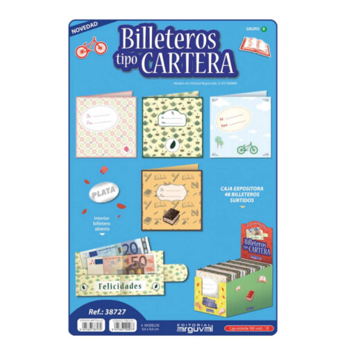 Billeteros tipo cartera BI38727