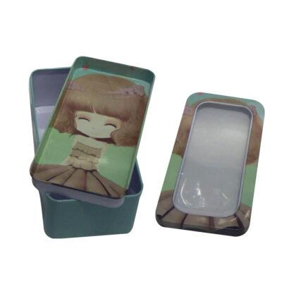 Caja metal con bandeja Lula CA2767