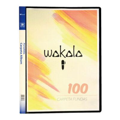 Carpeta 100 Fundas A4 CA100