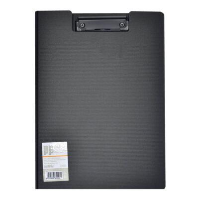 Carpeta A4 con clip negra CA10370