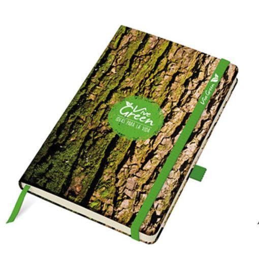 Cuaderno Vive green A5 RH22