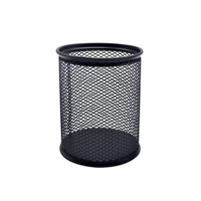 Cubilete Metálico de rejilla Negro CU683
