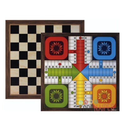 Tablero 4 Parchis + Damas F30039