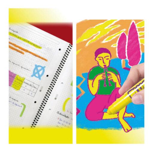 Tempera sólida PlayColor Pocket Fluo TE10421-1