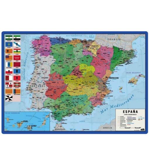 Vade Sobremesa Mapa Espanya VA264