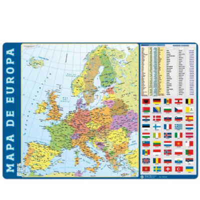Vade Sobremesa Mapa Europa VA502