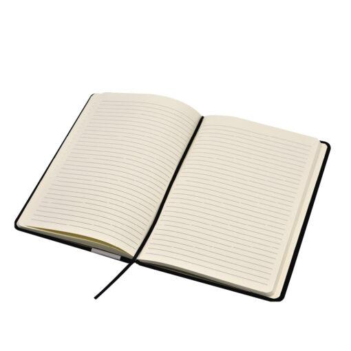 Cuaderno Negro A5 Hoja Rayada CU1353-1