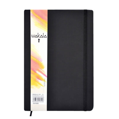 Cuaderno Negro A5 Hoja Rayada CU1353