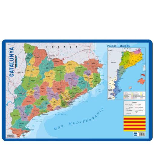 Lámina Educativa Catalán Mapa Cataluña LA265