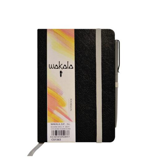 Notebook A6 con Bolígrafo CU1363