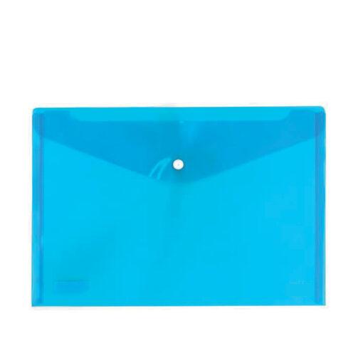 Sobre Plástico A4 Azul SO300A