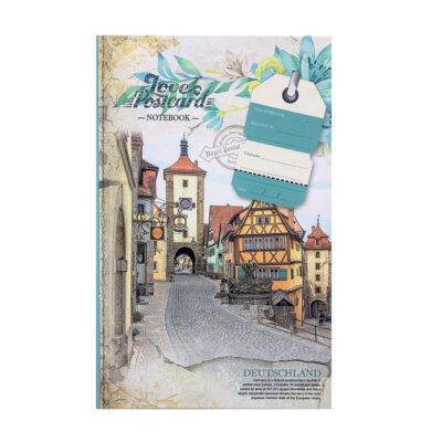 Cuaderno estampado B6 CU890