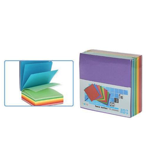 Bloc de Notas 10 Colores BL73308-1