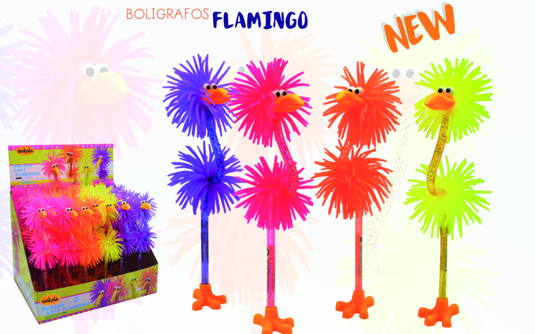 NUEVOS BOLIGRAFOS FLAMINGO