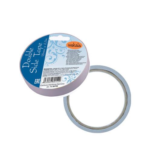 Cinta adhesiva Doble cara 19MM x 6,3M CI80152