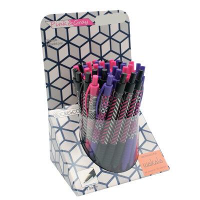 Bolígrafos Pink and Gray BO20