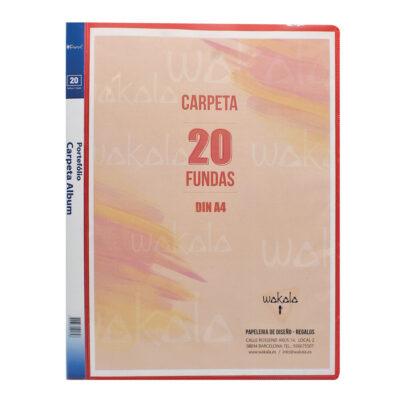 Carpeta 20 Fundas CA200