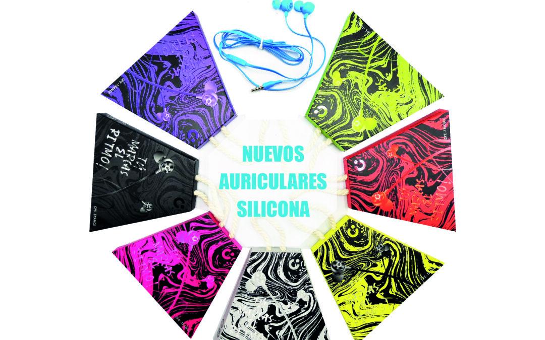 AURICULARES SILICONA