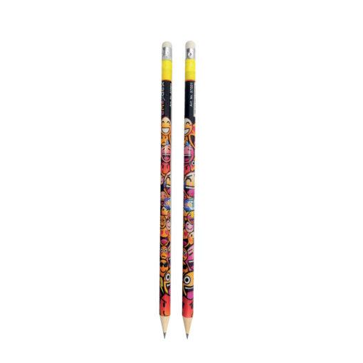 Lápices con goma Emoticonos LA87001-1