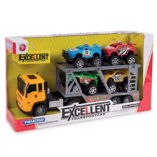 Camión Portacoches JU683