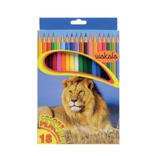 Lápices de colores Caja de 18 LA80170