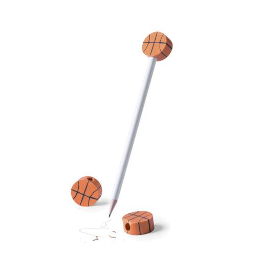 Lápiz con goma pelotas deporte LA12-2