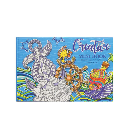 Mandala mini book MA706-1