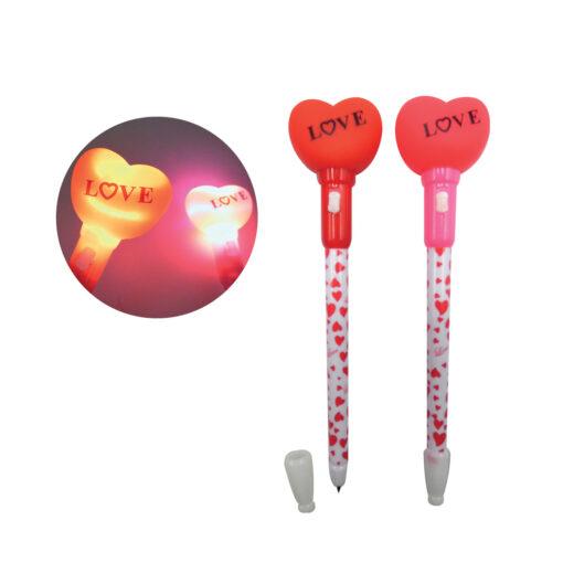 Bolígrafos corazones BO80621-1
