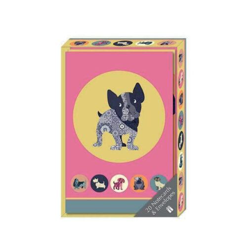 Dot the dog Set 20 tarjetas y sobres SE1857