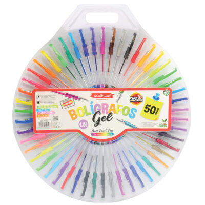 Set 50 Bolígrafos gel SE5464