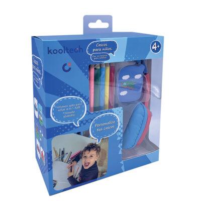 Auriculares Infantil Azul AU157