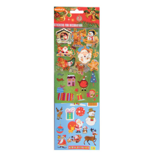 Blister Stickers Navidad ET80497-1