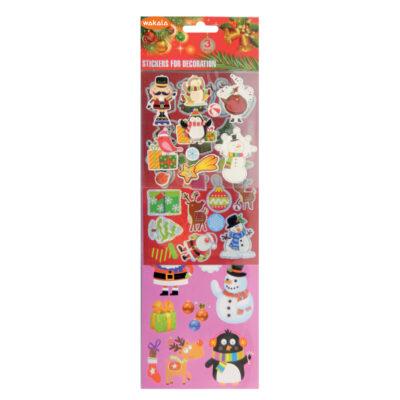 Blister Stickers Navidad ET80497