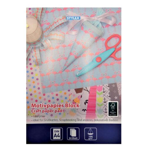 Cuaderno A4 papel scrap PA46046