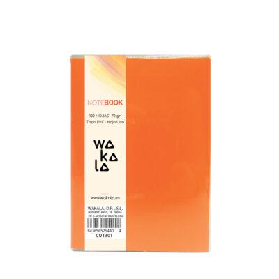 Notebook tapa PVC 13 x 10 cm CU1301