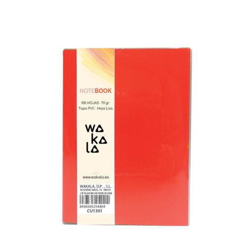 Notebook tapa PVC 13 x 10 cm CU1301-1