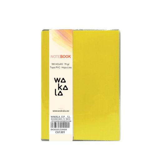 Notebook tapa PVC 13 x 10 cm CU1301-2