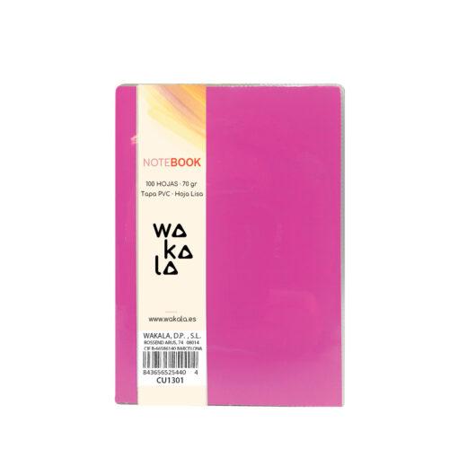 Notebook tapa PVC 13 x 10 cm CU1301-3