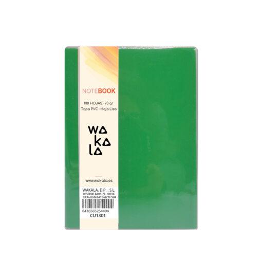 Notebook tapa PVC 13 x 10 cm CU1301-4