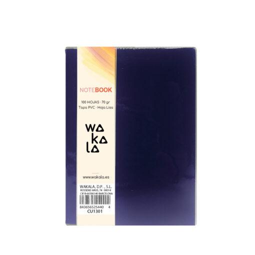 Notebook tapa PVC 13 x 10 cm CU1301-6