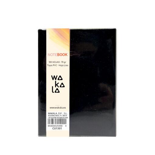 Notebook tapa PVC 13 x 10 cm CU1301-7