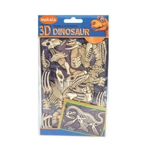Blíster puzzle stickers Dinosaurios ET80699-1