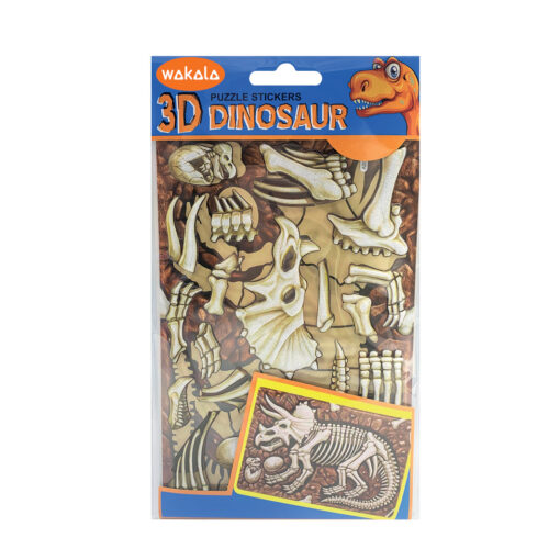 Blíster puzzle stickers Dinosaurios ET80699-2