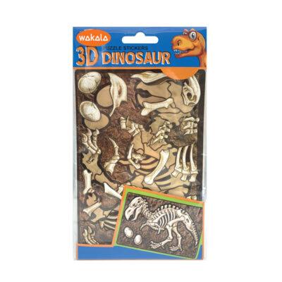 Blíster puzzle stickers Dinosaurios ET80699