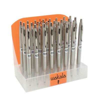 Bolígrafos plata BO80536