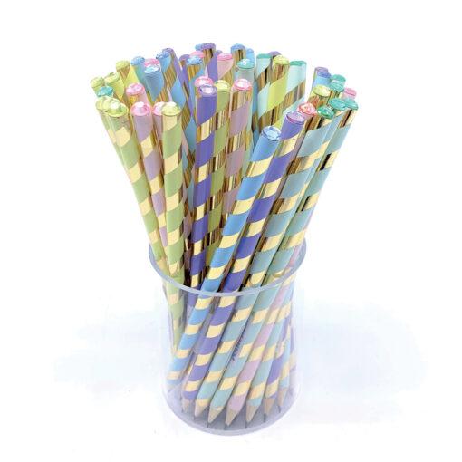 Lápices Pastel cristal LA907