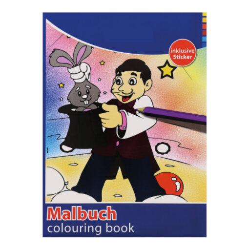 Cuaderno colorear A4 CU77159-1