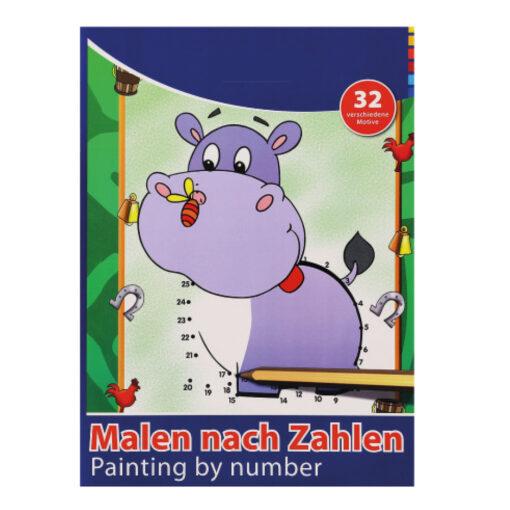 Cuaderno colorear A4 CU77159-3
